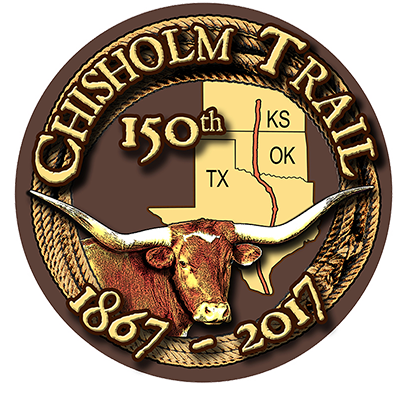 Chisholm Trail 150th Anniversary logo