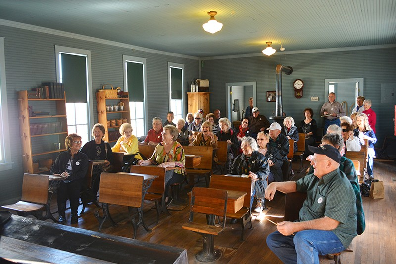 Group at Cherokee Strip Regional Heritage Center