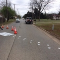 Hoof prints on Enid streets mark Chisholm Trail