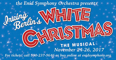 Enid Symphony White Christmas