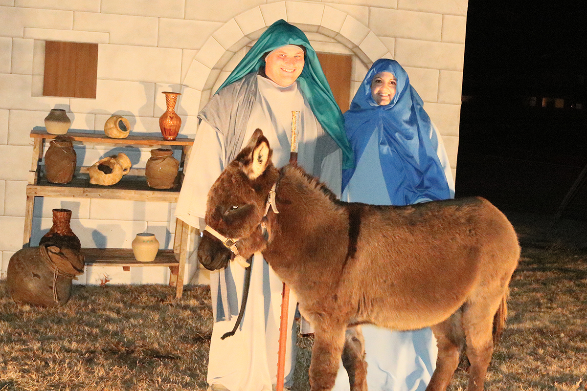 Living Drive-Through Nativity Enid
