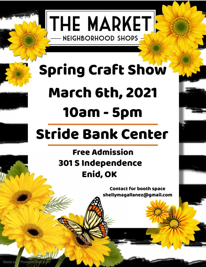 The Market Spring Craft Show Enid